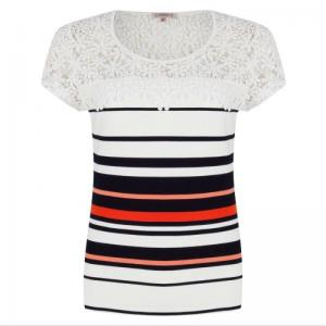 top stripe multi logo