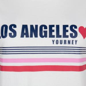 T-s Stripes LA off white