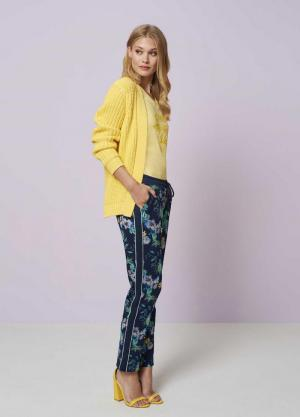 121415 21 [Trousers (casual)] 009995 Print Bl