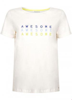 T-shirt Awesome logo