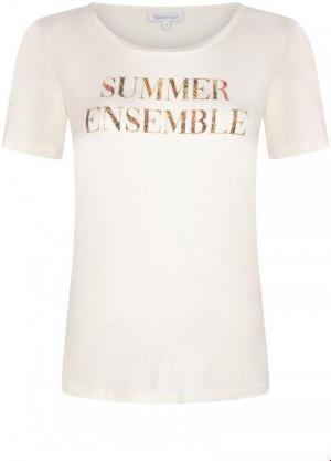 T-shirt summer ens logo
