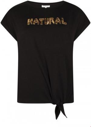 T-shirt natural logo