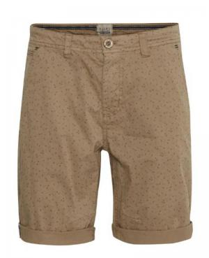 Shorts sand brown logo