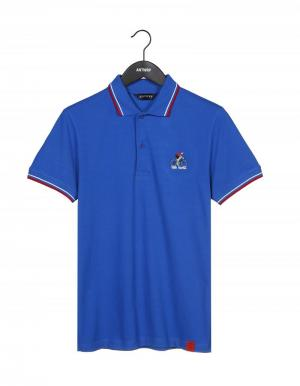 True blue polo cycliste logo