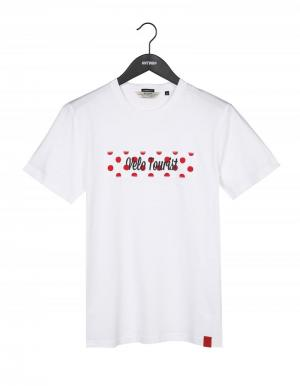T-shirt Velo tourist logo