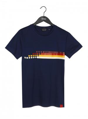 Navy T-shirt Antwrp logo