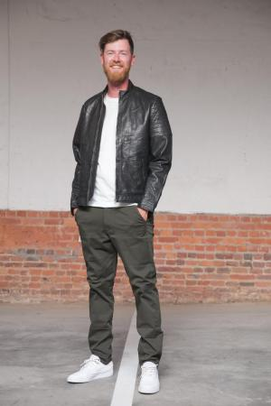 Jas Adron Soft leather 20050 Black