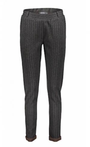 Pants pinstripe anthracite logo
