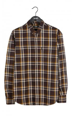Boys shirt brown logo