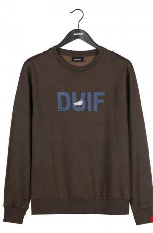 Sweatshirt brown logo