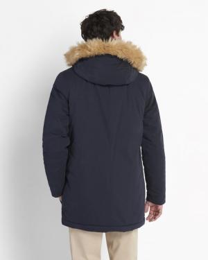 Jacket caramel Dark Navy
