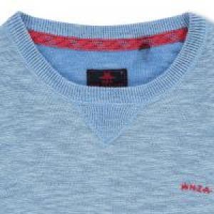 Pullover Round neck Fresh Blue