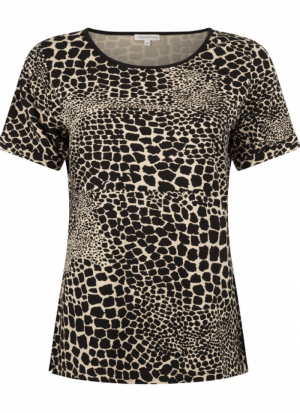 T-shirt giraf print logo