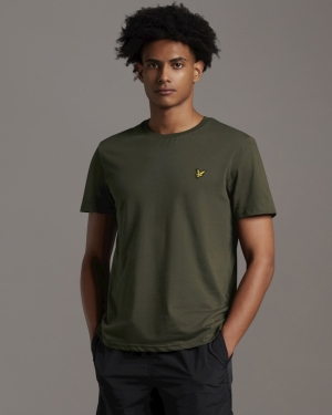 T-shirt Trek green