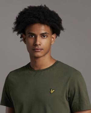 T-shirt Trek green