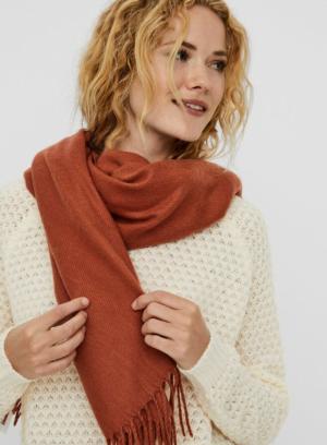 Solid long scarf logo