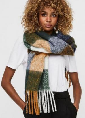Saura long scarf Buchthorn brown