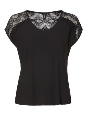 Milla lace top logo