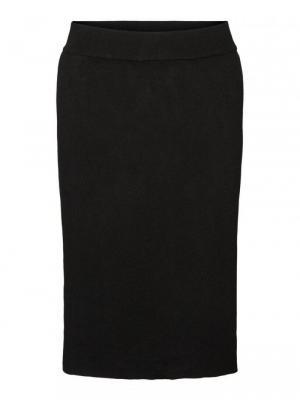 Gusta fullneedle skirt black logo