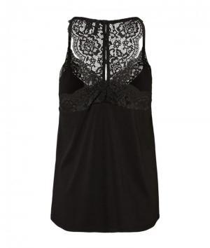 Ana Lace top  black