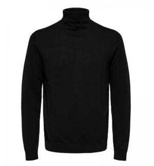 Slhberg Roll neck logo