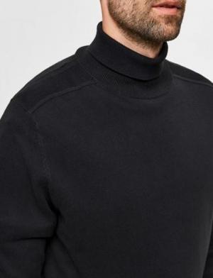 Slhberg Roll neck Black