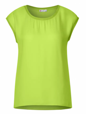 T-shirt in lime logo
