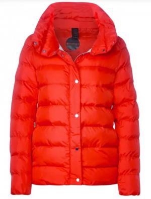 A201492 short padded jacket w. logo
