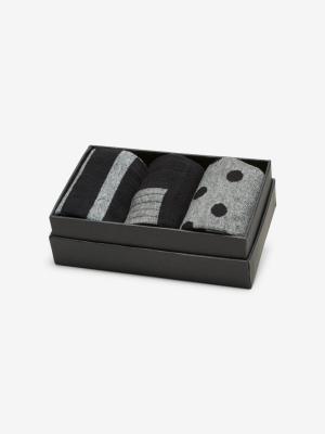 Russel socks giftbox logo