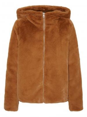 Thea hoody short faux fur jack logo