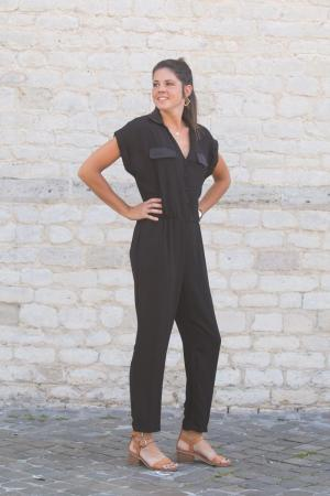 Jumpsuit black logo