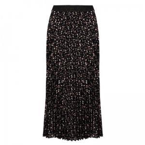 Skirt plisse mini paisley logo