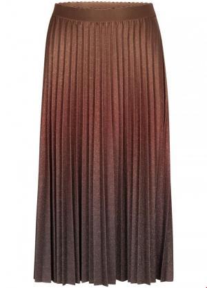 Skirt lurex ombre logo