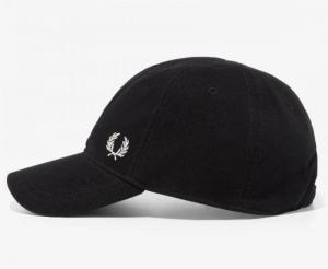Pet zwart met logo  black