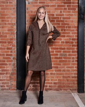 Dress brown brown
