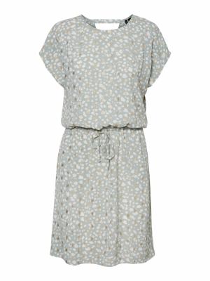 Sinamon short foil dress logo