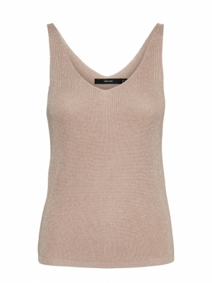 New lex lurex top birch-silver logo