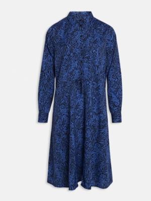 Ike dress cobalt