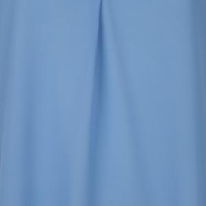 Blouse short puff sleeve Blue
