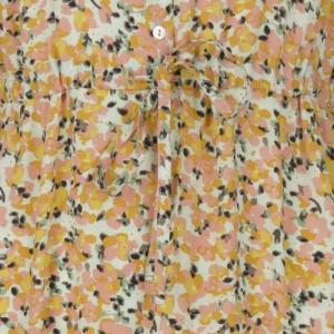 Dress bouquet print. logo