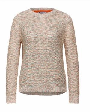 Multicolour knit. logo