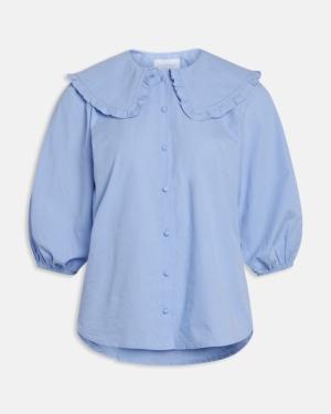 Ivana shirt light blue logo