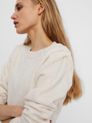 tigo o-neck blouse logo