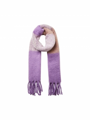 ava block scarf logo