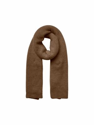kaia wool scarf logo