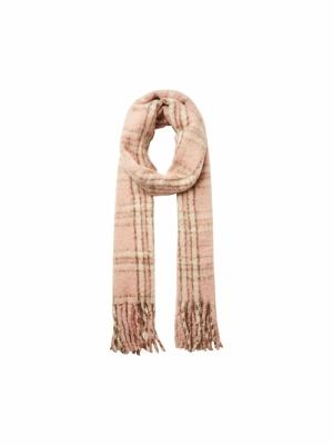 ava scarf  misty rose