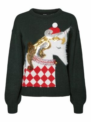 unicorn o-neck blouse logo