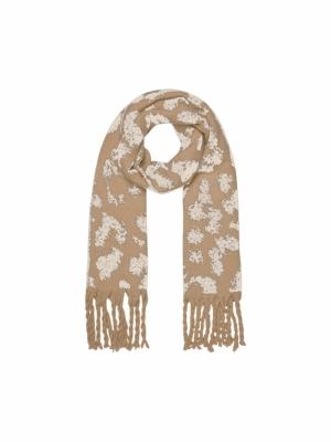 Kitty long scarf logo