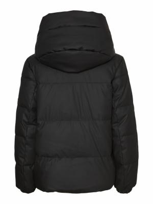 Greta short coated jacket logo