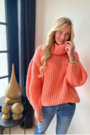 Long Bobby knit Peche